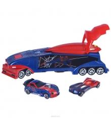 Игровой набор Majorette Человек Паук Трейлер и 2 авто 3089714...