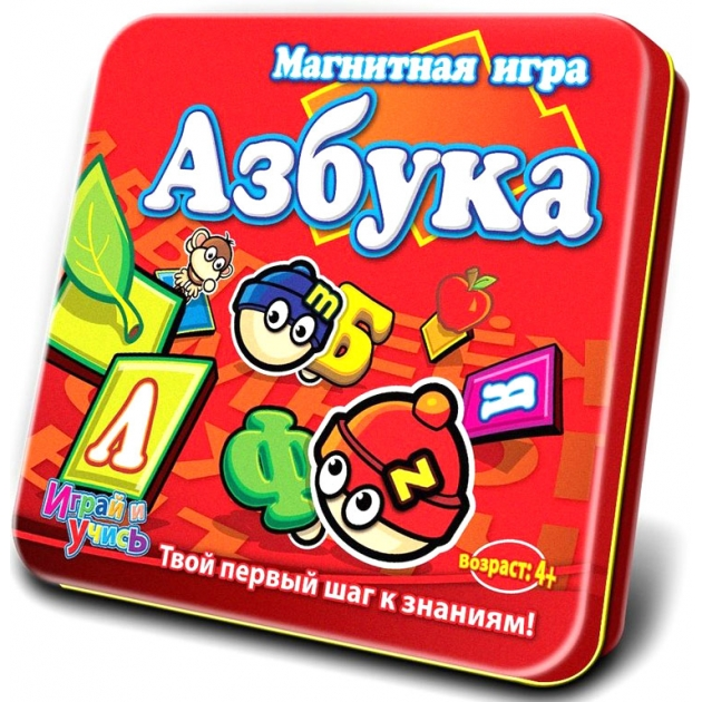 Магнитная игра Mack Zack LP ABC Алфавит