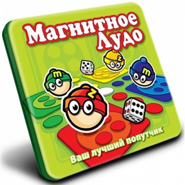 Магнитная игра Mack Zack Лудо MT014