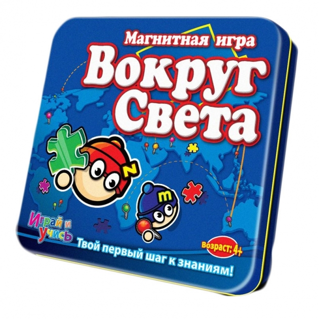 Магнитная игра Mack Zack LP World Вокруг Света