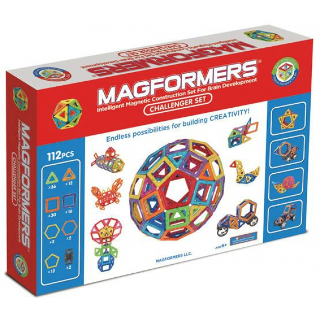 Магнитный конструктор Magformers 63077 Challenger Set