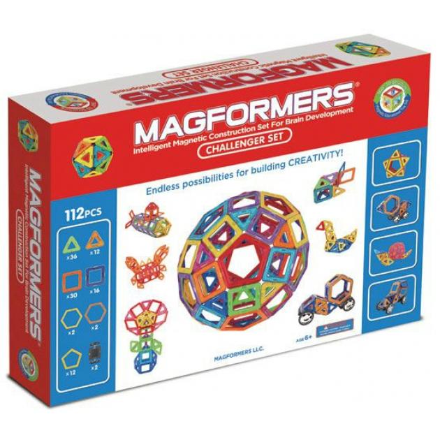 Магнитный конструктор Magformers Challenger 63077