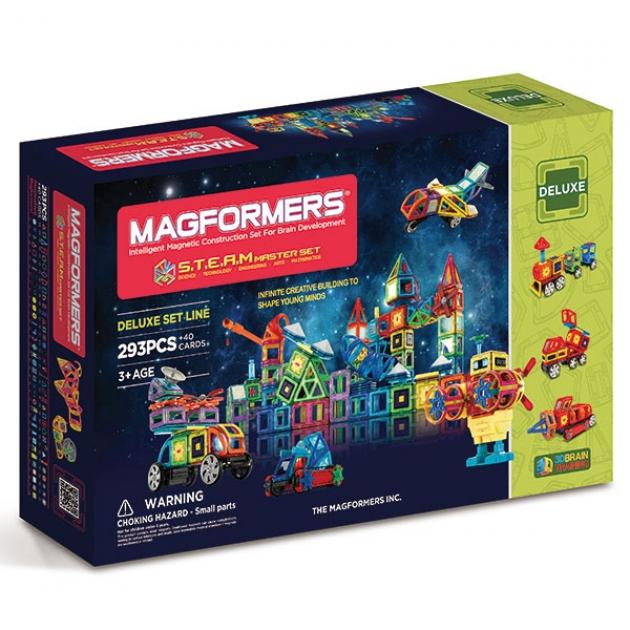 Магнитный конструктор Magformers STEAM Master 60506/710007