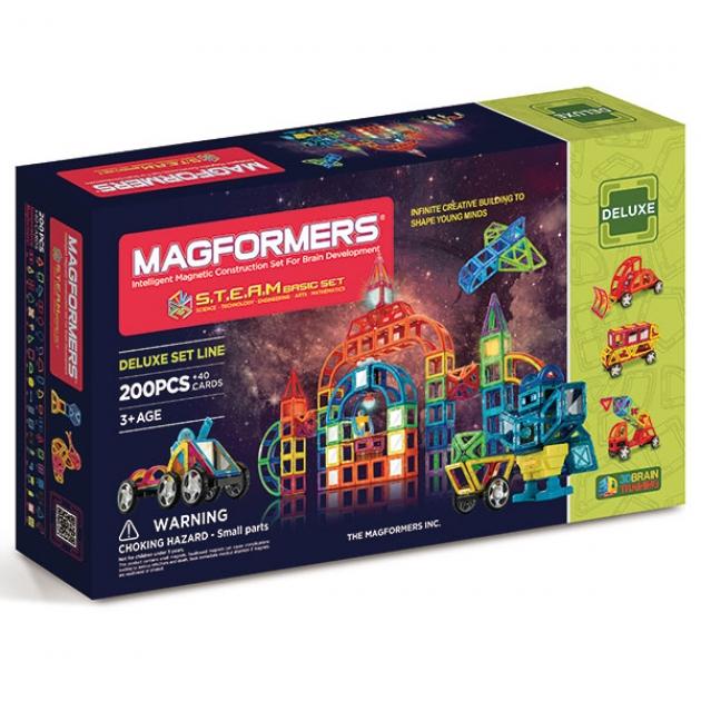 Магнитный конструктор Magformers STEAM Basic 60507/710008