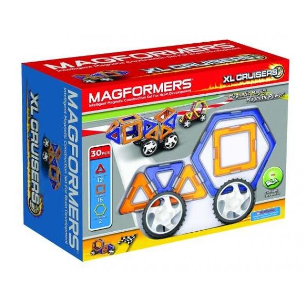 Магнитный конструктор Magformers Xl cruisers 63073/706001