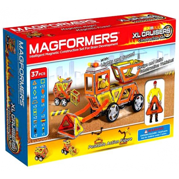 Магнитный конструктор Magformers набор круизер строители 63080/706003