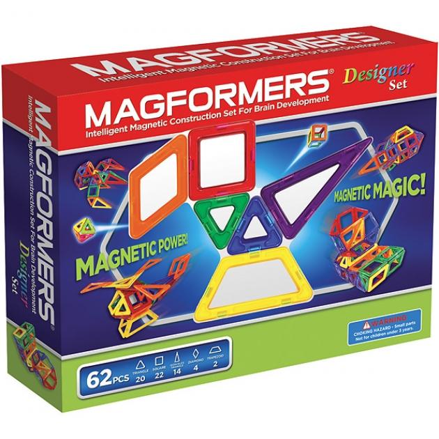 Магнитный конструктор Magformers Дизайнер сет 63081/703002