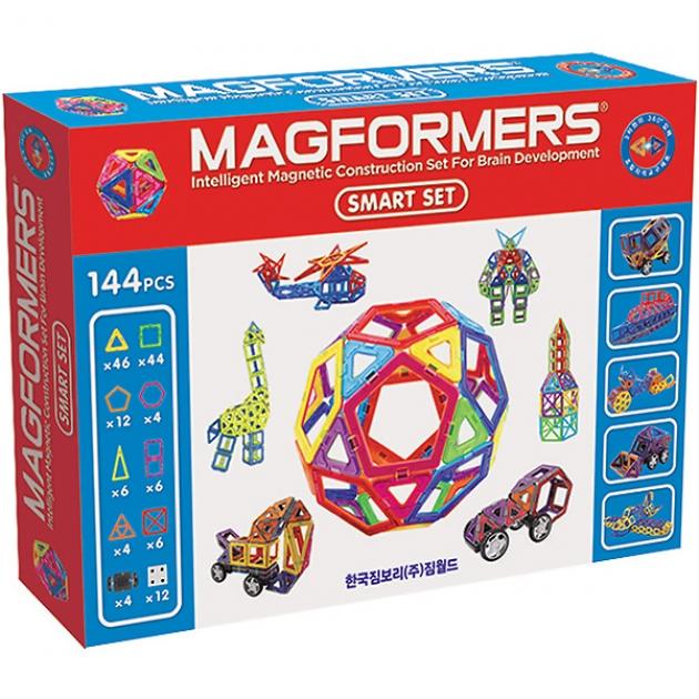 Магнитный конструктор Magformers Smart set 63082/710001