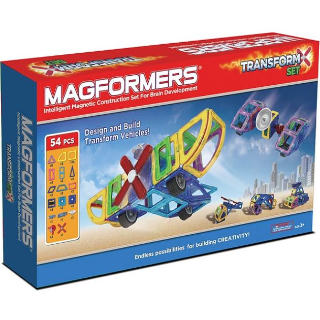 Магнитный конструктор Magformers Transform set 63089/707001