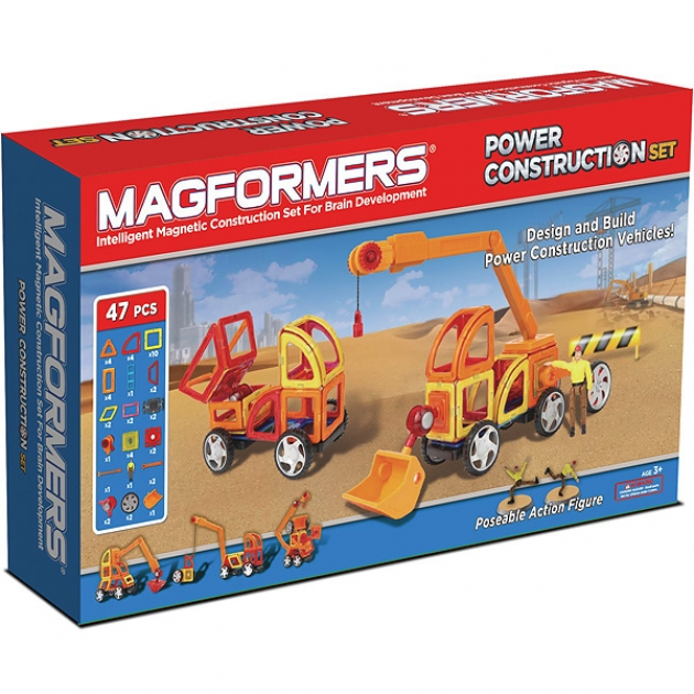 Магнитный конструктор Magformers Power Construction Set 63090/707002