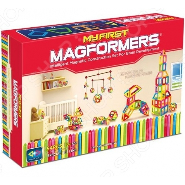 Магнитный конструктор Magformers My First 54 63108/702002