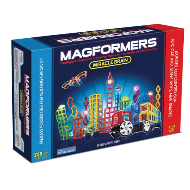 Магнитный конструктор Magformers Miracle Brain set 63093/710005