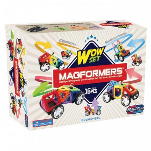 Магнитный конструктор Magformers Wow set 63094/707004