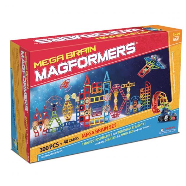 Магнитный конструктор Magformers Mega Brain 63100/710006