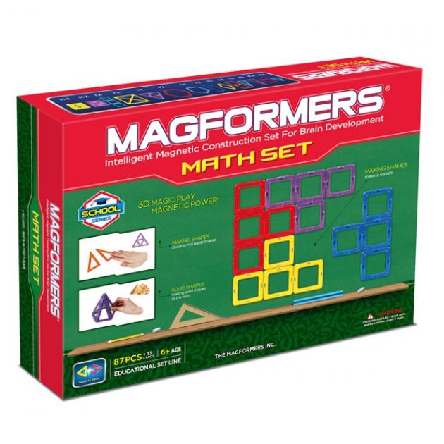 Магнитный конструктор Magformers Увлекательная Математика 63109/711002