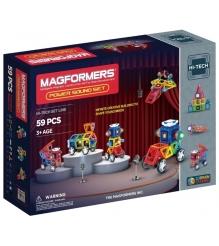 Магнитный конструктор Magformers Hi-Tech 63115 Сила звука