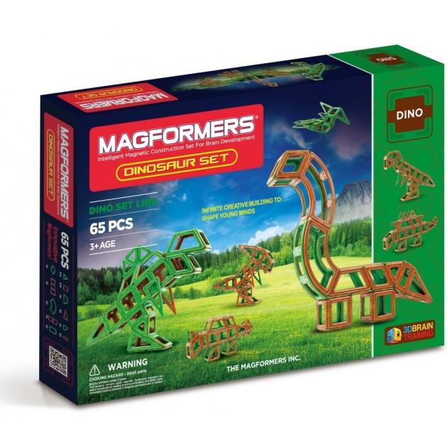 Магнитный конструктор Magformers Динозавр 63117/708001