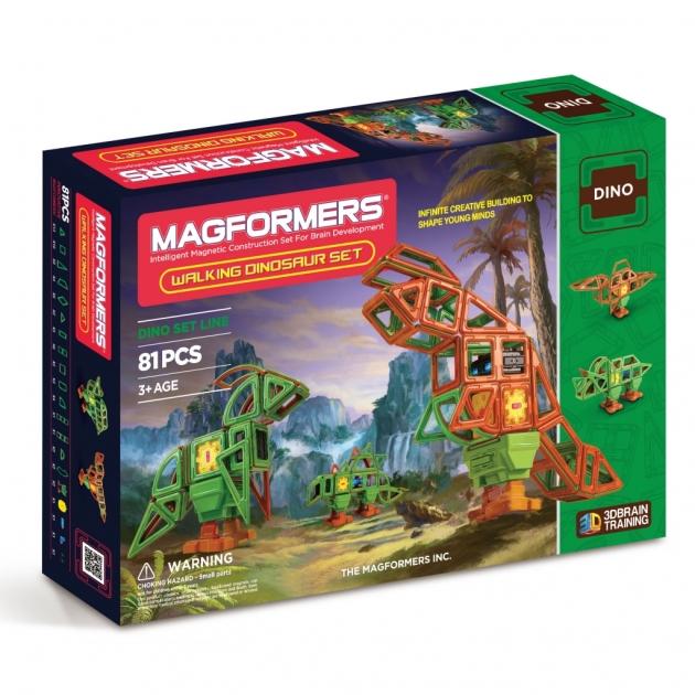 Магнитный конструктор Magformers Гуляющий динозавр 63138/708002