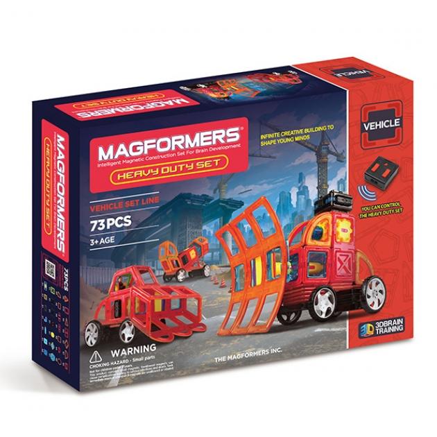 Магнитный конструктор Magformers Vehicle 63139 Сверхмощные машины