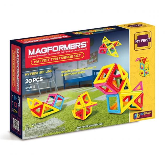 Магнитный конструктор Magformers Tiny Friends 63143/702004