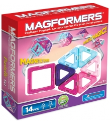 Magformers Pastelle 63096 14 элементов