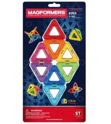 Магнитный конструктор Magformers Треугольники 8 деталей 701002...