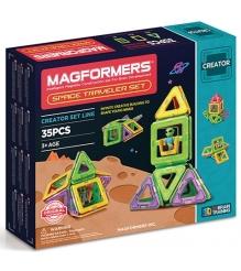 Магнитный конструктор Magformers Space Treveller set 703007