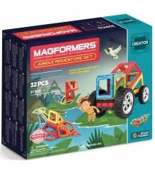 Магнитный конструктор Magformers Adventure Jungle 32 set 703009...