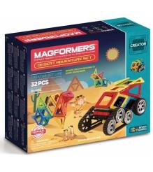 Магнитный конструктор Magformers Adventure Desert 32 set 703010...