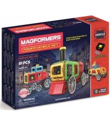 Магнитный конструктор Magformers Power Vehicle Set 707011