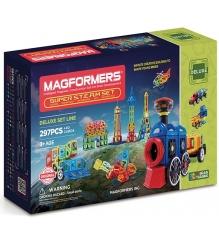 Магнитный конструктор Magformers Super Steam Set 710009