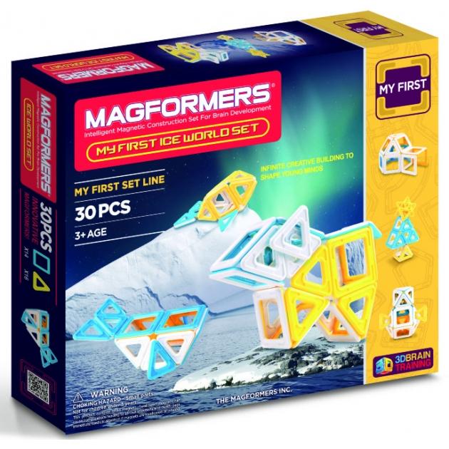 Магнитный конструктор Magformers Ice World 63136/702003