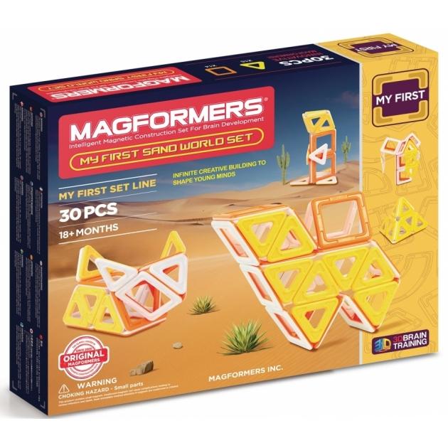 Магнитный конструктор Magformers My First Sand World set 702010