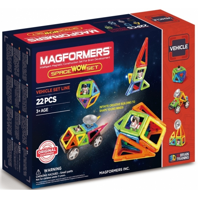 Магнитный конструктор Magformers Space Wow Set 707009