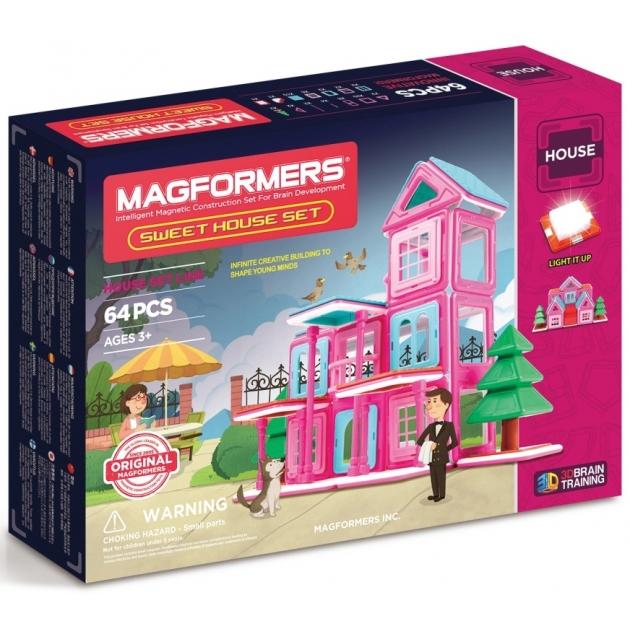 Магнитный конструктор Magformers Sweet House Set 705001