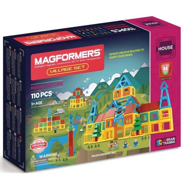 Магнитный конструктор Magformers House 705002 Деревня