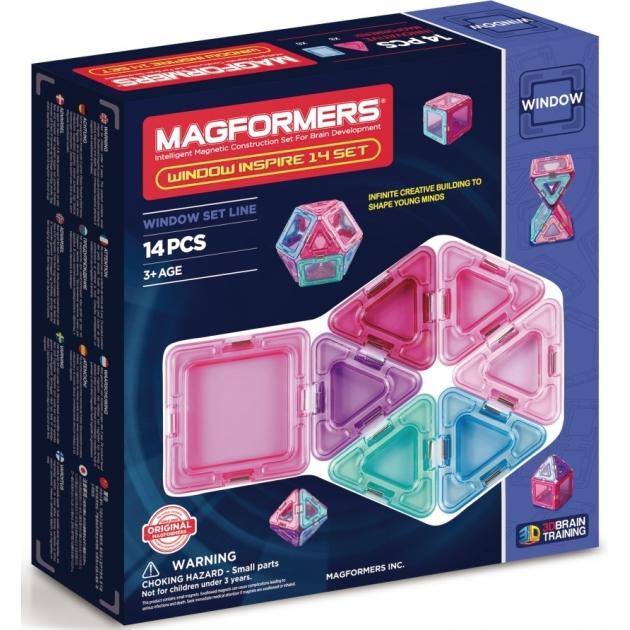 Магнитный конструктор Magformers Window Inspire 14 set 714003