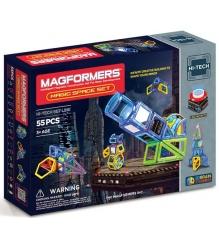 Магнитный конструктор Magformers Magic Space 63140/709005