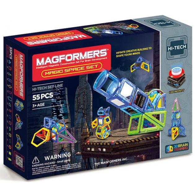 Магнитный конструктор Magformers Hi-Tech 63140 Магия космоса
