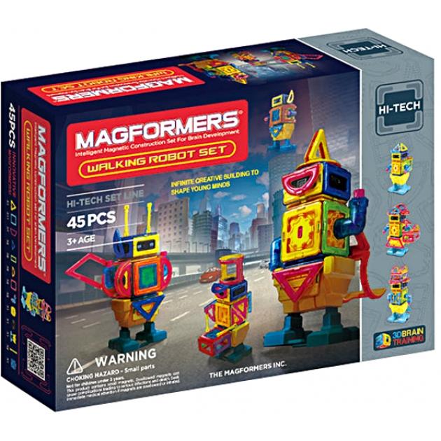 Магнитный конструктор Magformers Walking Robot 63137/709004