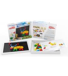 Игровой набор Magneticus Мозаика Забавные Животные MA-060