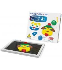Игровой набор Magneticus Мозаика 174 элемента MM-0174