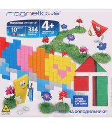 Игровой набор Magneticus Магнитная мозаика Гусеница MM-16BL...