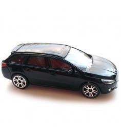 Коллекционная машинка Majorette Peugeot черная 7.5...
