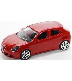 Коллекционная машинка Majorette Alfa Romeo красная...