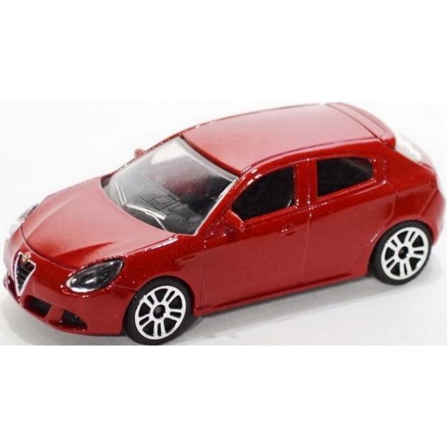 Коллекционная машинка Majorette Alfa Romeo красная 7.5 см 205279