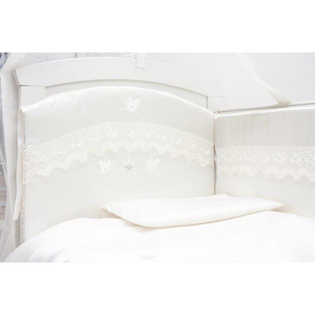 Комплект в кроватку 6 предметов Makkaroni Kids Бабочки