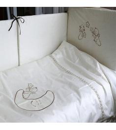 Комплект сменного белья в кроватку 3 предмета Makk...
