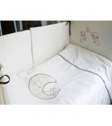 Комплект сменного белья в кроватку 3 предмета Makkaroni Kids Сказка маленькой принцессы (Маккарони Кидс)