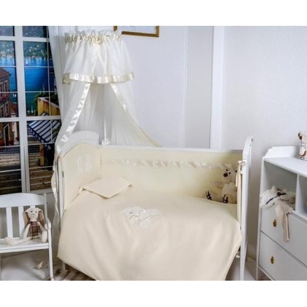 Бортик в кроватку Makkaroni kids Тедди 120*60